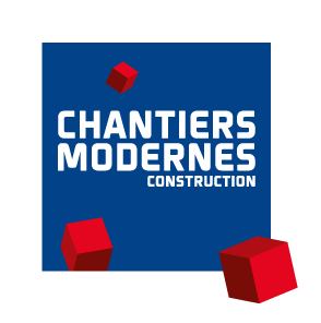 Logo chantiers modernes construction